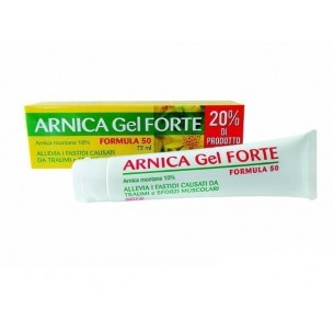 Arnica - Gel Forte 10% per traumi muscolari 72 ml