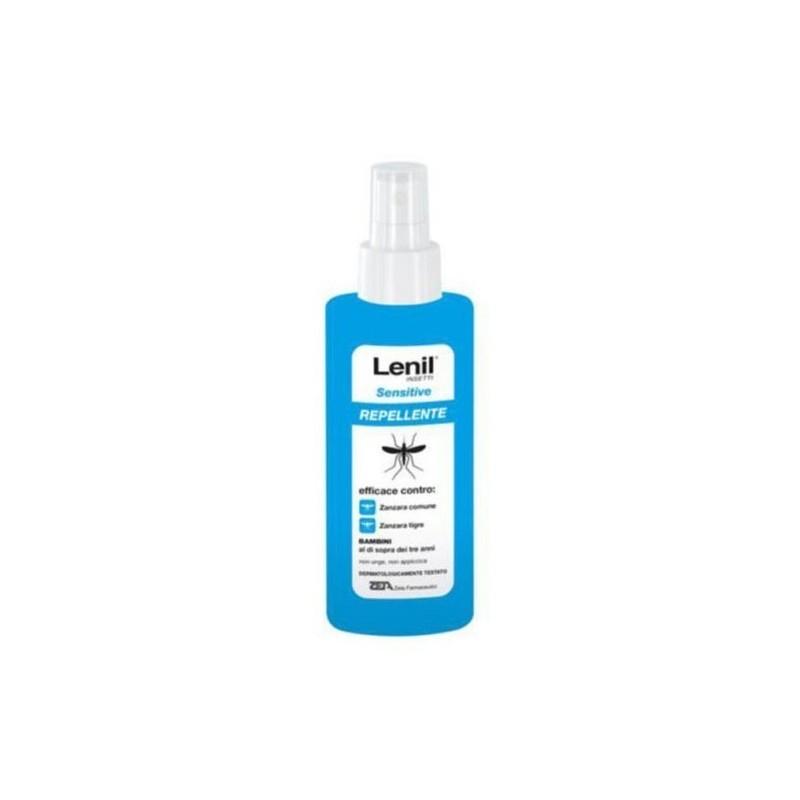 ZETA FARMACEUTICI - Lenil Insetti Sensitive - Spray repellente per zanzare 100 ml