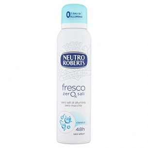 deodorante extra fresco antimacchia spray 150 ml