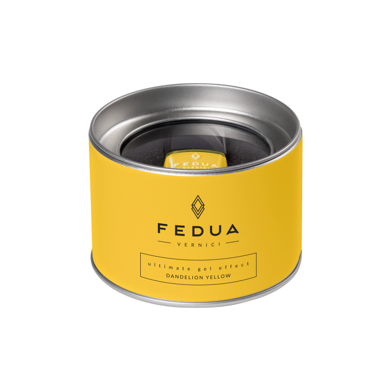 FEDUA - Ultimate Gel Effect - Smalto per Unghie - Dandelion Yellow