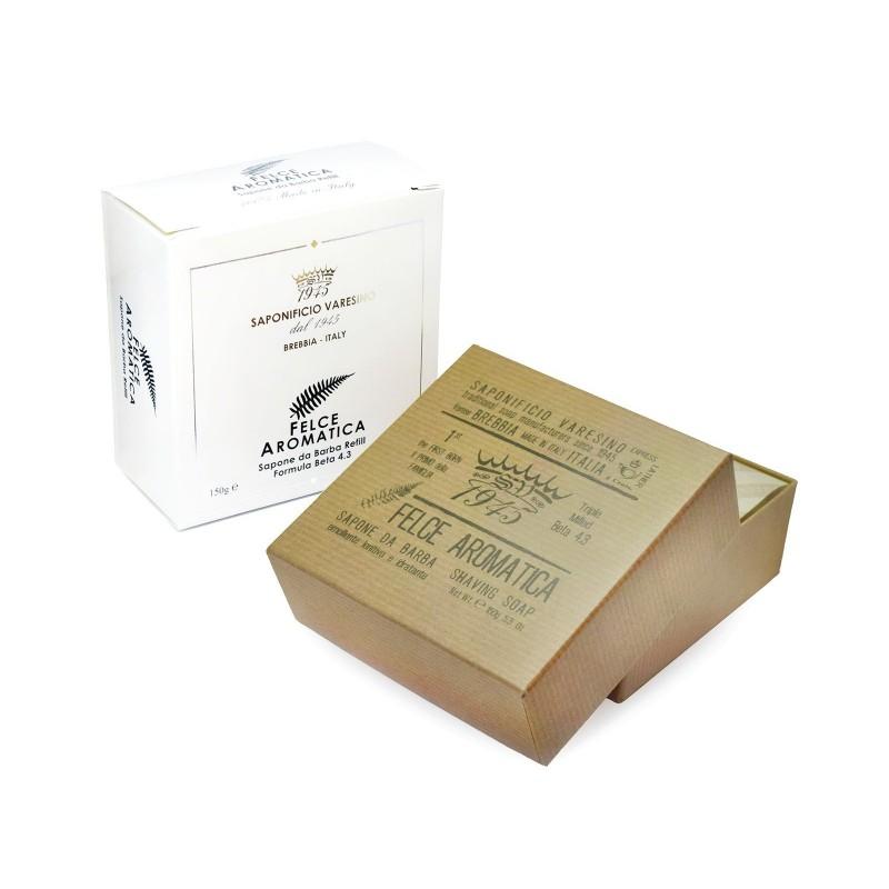 SAPONIFICIO VARESINO - Felce Aromatica - Sapone da barba 150 gr