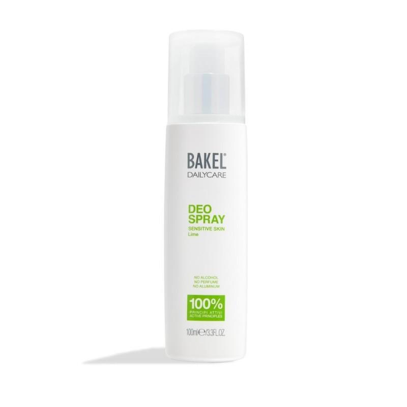 BAKEL - dailycare deospray lime - deodorante per pelli sensibili 100 ml
