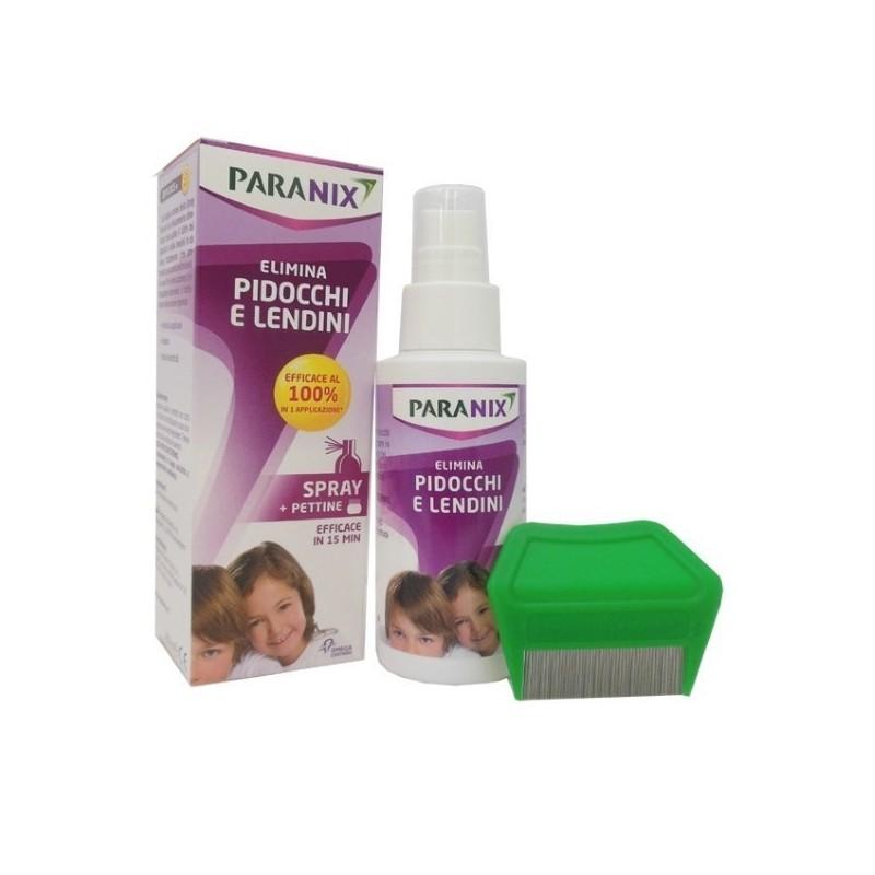 PARANIX - trattamento anti-pidocchi e lendini spray 100 ml + pettine