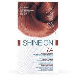 Shine On - Tarttamento Colorante per Capelli 7.4 Biondo Ramato