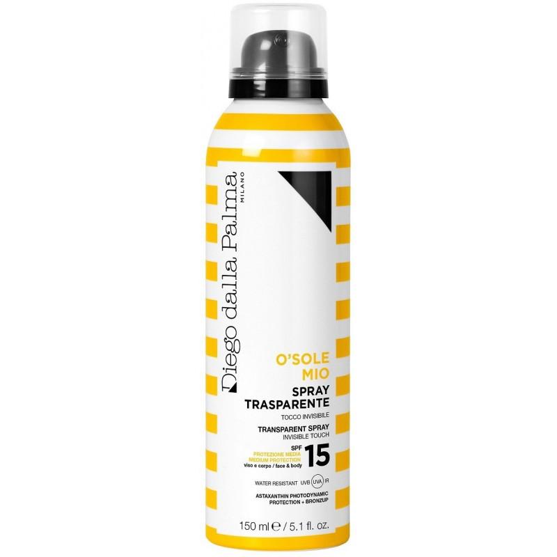 DIEGO DALLA PALMA - O' Sole Mio - Spray Trasparente SPF15 viso e corpo 150 ml