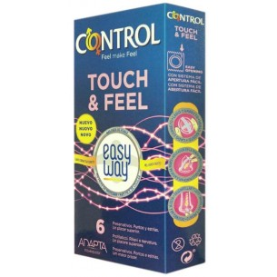 Touch & Feel Easy Way - 6 Preservativi