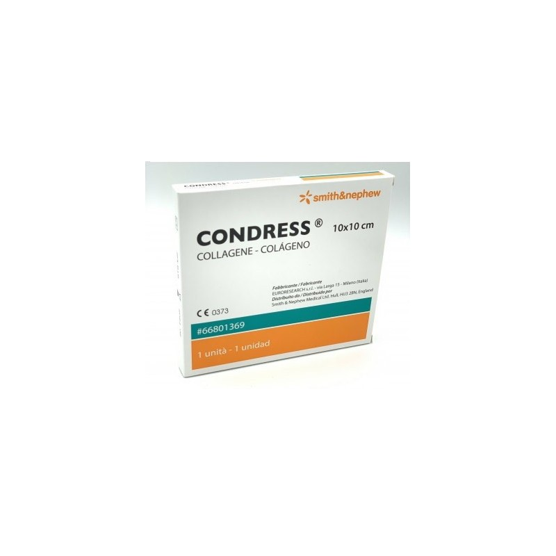 PHARMAIDEA - Condress Medicazione al collagene equino 10x10cm