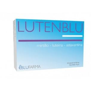 Lutenblu 20 Capsule - Integratore alimentare utile alla funzione visiva