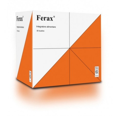 NEO G PHARMA - Ferax 30 Bustine - Integratore alimentare per muscoli e ossa