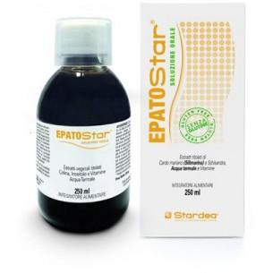 Epatostar soluzione Orale 250 ml - Integratore alimentare per la normale funzionalità epatica