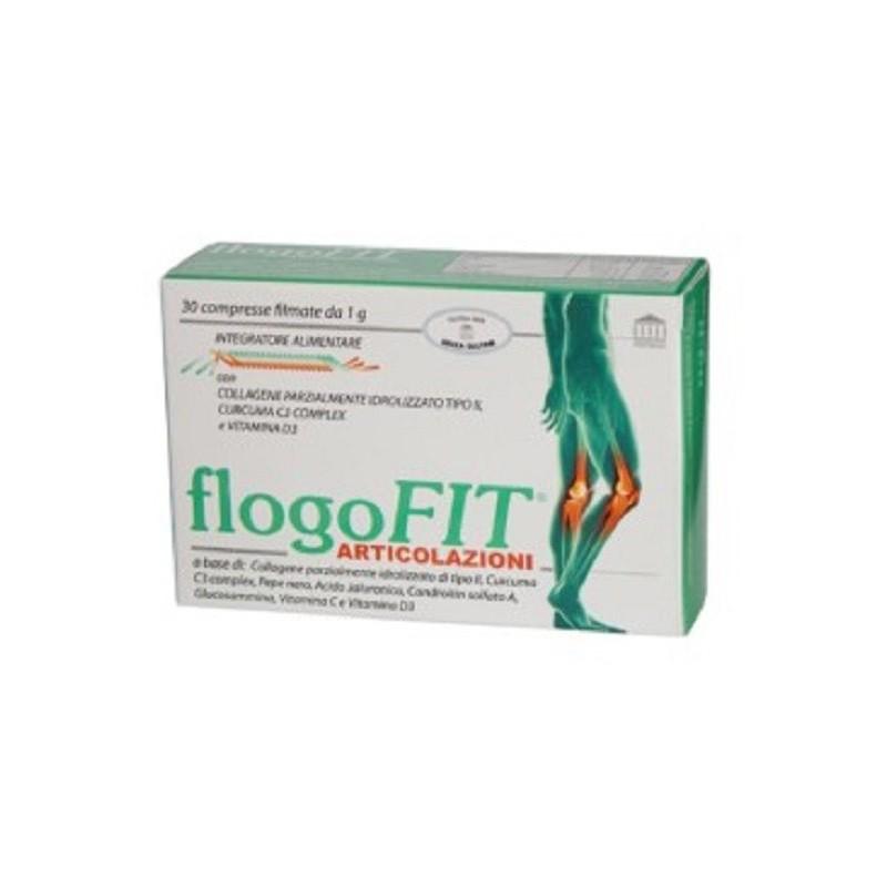 PENTHA PHARMA ITALIA - Flogofit 30 Compresse - Integratore alimentare per le articolazioni