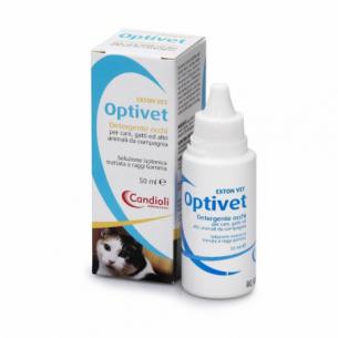 optivet - detergente occhi per cani e gatti 50 ml