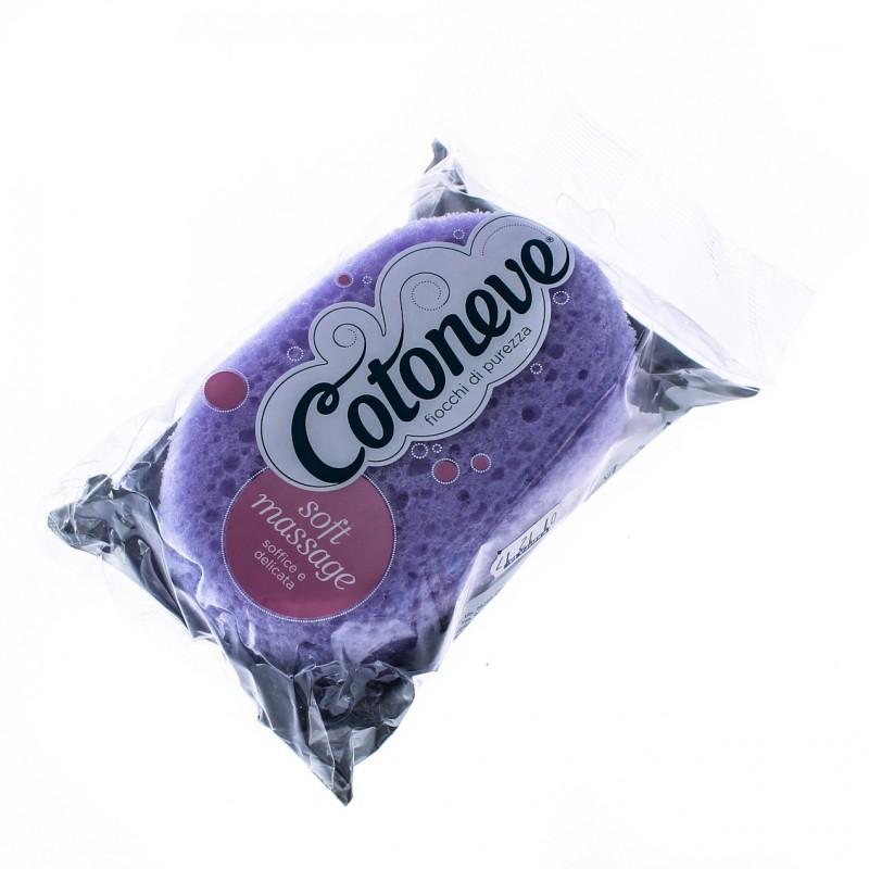 COTONEVE - spugna bagno ovale 901 soft massage colori assortiti