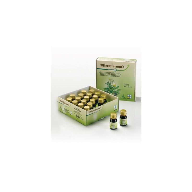 NAMED - microflorana-f direct 10 20 flaconcini - integratore antiossidante