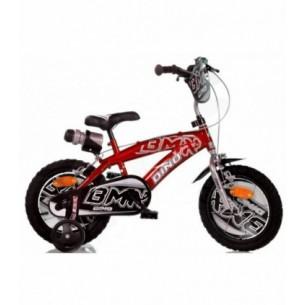 Bicicletta Bmx boy rosso diametro ruota 14''