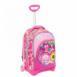 Zaino Scuola con Trolley SJ Gang Animali Girl