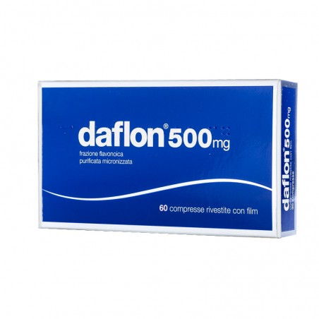 SERVIER - Daflon 500 mg - trattamento dell'insufficienza venosa 60 compresse rivestite