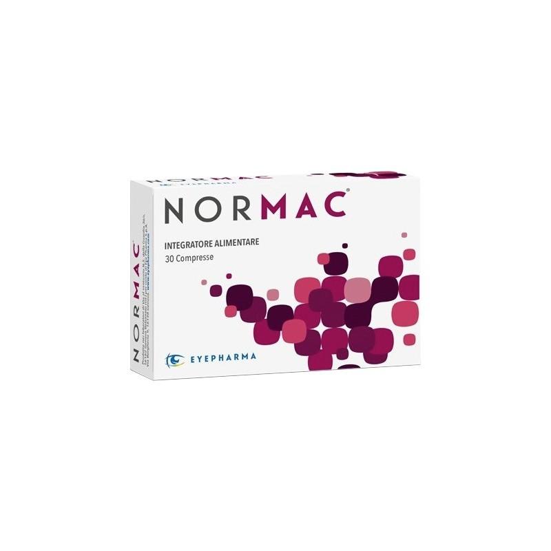 EYEPHARMA - Normac 30 Compresse - Integratore alimentare antiossidante utile al microcircolo