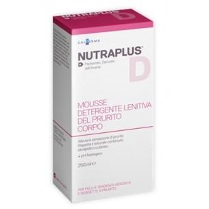 Nutraplus - Mousse detergente lenitiva del prurito corpo 250 ml (Prodotto Senza Scatola)