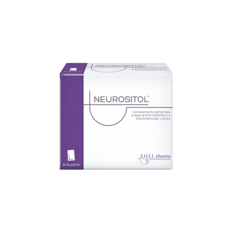 Lo.li. Pharma - neurositol 20 bustine - integratore per il tono dell'umore