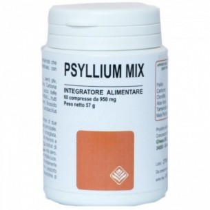 psyllium mix 60 compresse - integratore alimentare per il transito intestinale