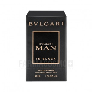 man in black - eau de parfum uomo 30 ml vapo