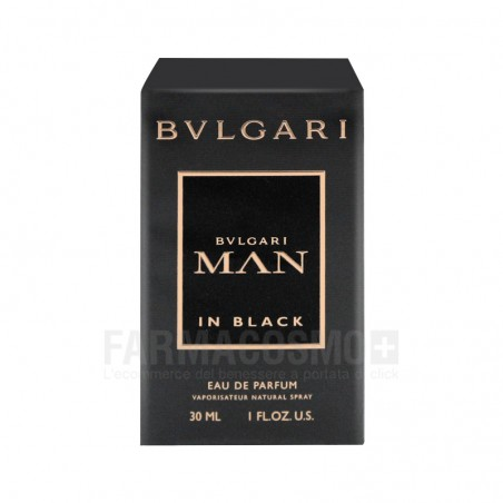 Bulgari - man in black - eau de parfum uomo 30 ml vapo