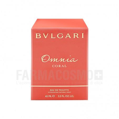 Bulgari - omnia coral - eau de toilette donna 65 ml vapo