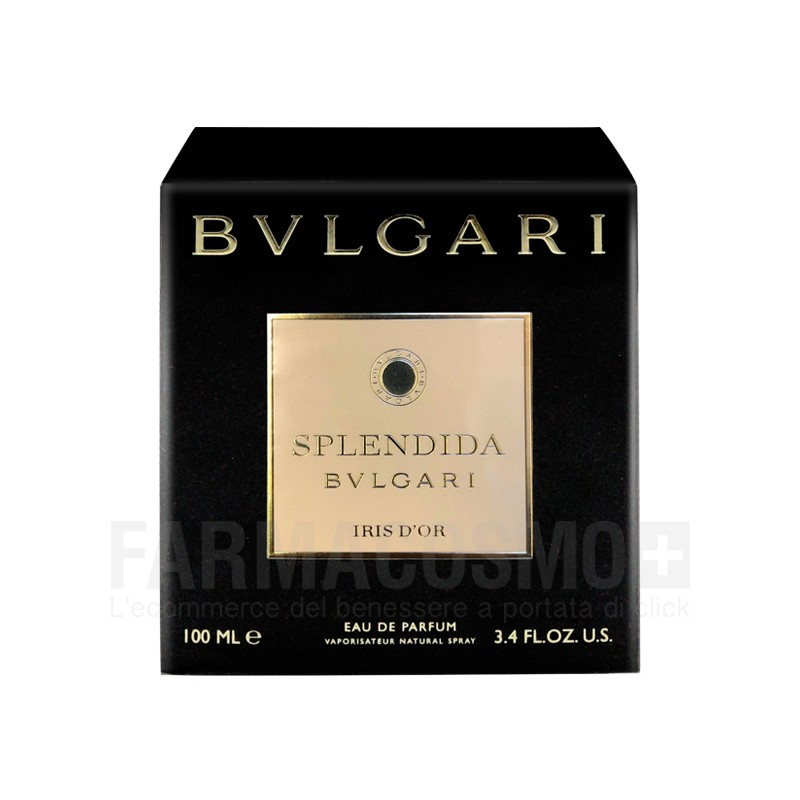 Bulgari - Splendida Iris d'Or - Eau de Parfum donna 100 ml vapo