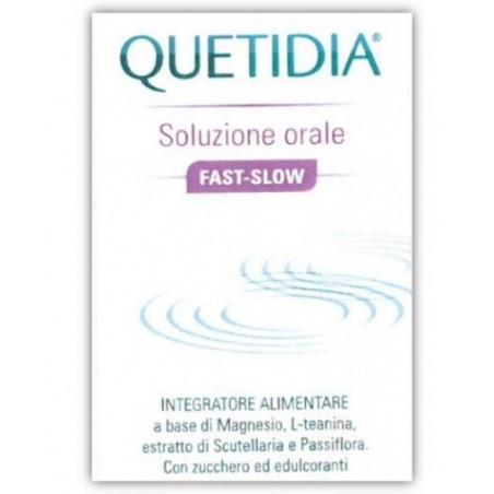 NEURAXPHARM - Quetidia Soluzione Orale Fast Slow 150ml - Integratore per il rilassamento
