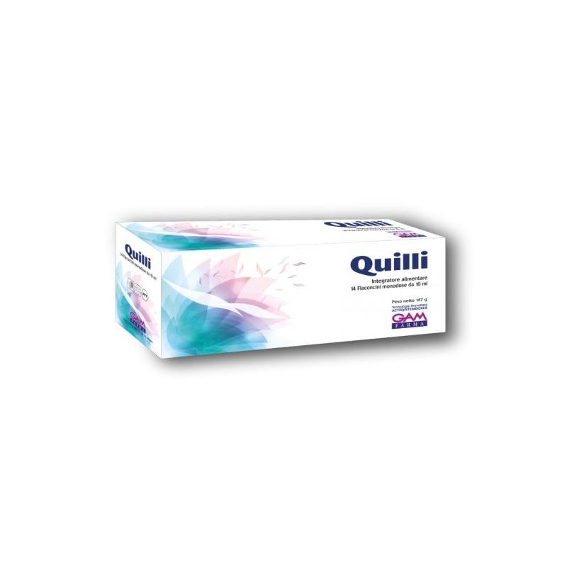 GAM FARMA - Quilli 14 Flaconcini - Integratore alimentare utile al tono psico-fisico e memoria