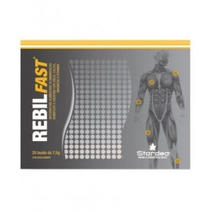 Rebilfast 20 Bustine - Integratore alimentare utile alla funzione della muscolatura