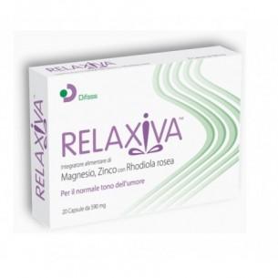 Relaxiva 20 Capsule - Integratore contro la stanchezza fisica e mentale