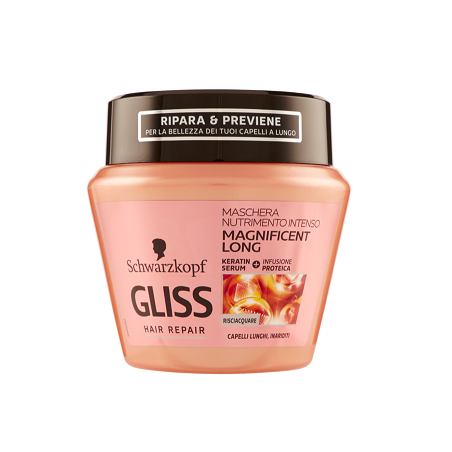 Testanera - Gliss Hair Repair maschera nutrimento intenso 300 ml