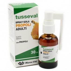 Tusseval Gola Propoli Adulti 30 ml - Integratore spray per le vie respiratorie