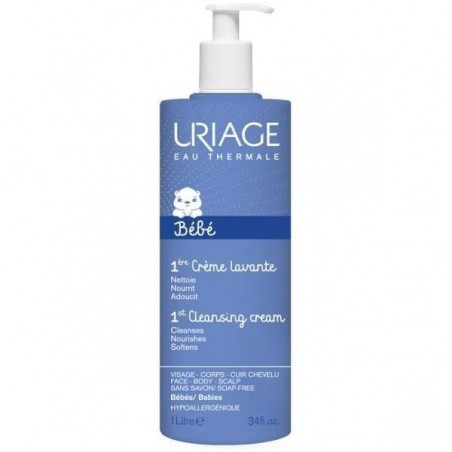 URIAGE - Creme lavante bebè detergente e idratante 1 lt