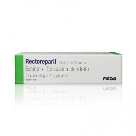 Meda Pharma - Rectoreparil Crema 4,5% + 0,5% Tubo da 40 g + 1 Applicatore