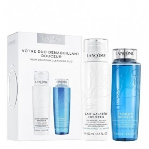 Duo Demaquillant Doucer -  Lait Galateis 400 ml + Tonique 400 ml