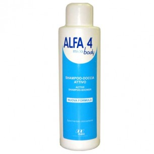 Alfa 4 Mico Body - Detergente antimicotico e antibatterico 500 ml