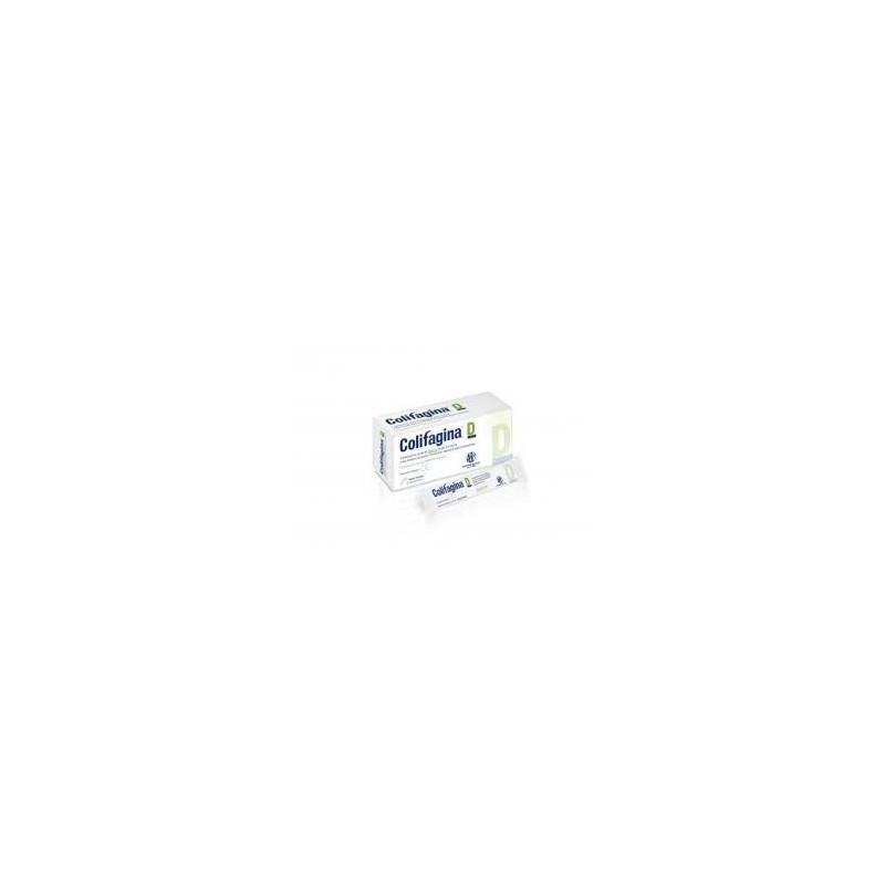 ABC FARMACEUTICI - Colifagina D 12 bustine 15 ml - dispositivo medico per il trattamento della diarrea