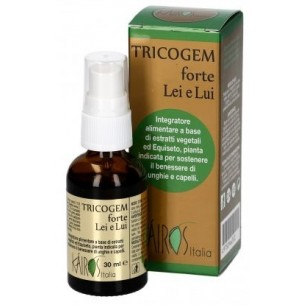 Tricogem Forte Lei e Lui 30 ml - integratore per il benessere di unghie e capelli