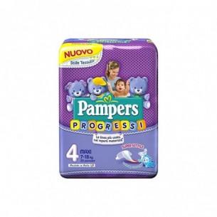 Pampers Progressi - 23 Pannolini con Rete Super-Assorbente Taglia 4 Maxi (7-18kg)