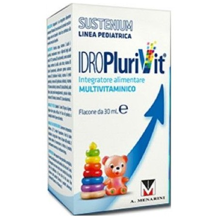 MENARINI - Sustenium IdroPlurivit - Integratore Alimentare Multivitaminico 30 ml