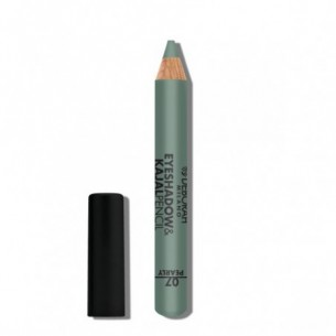 Eyeshadow & Kajal Pencil n.07 green finish pearly