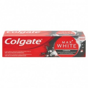 Max white carbon - Dentifricio sbiancante 75 Ml
