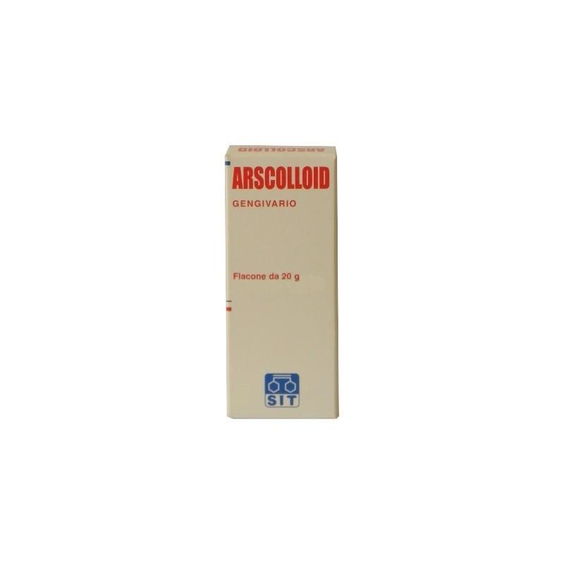 SIT LABORATORIO FARMAC. - Arscolloid - Collutorio Gengivario 20 g