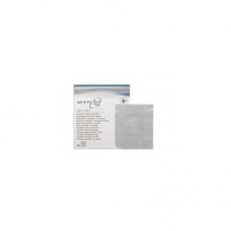 CONVATEC - Aquacel AG extra quadrato dressing medicazione 10x10cm - 10 medicazioni (Scatola Danneggiata)