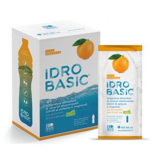 Idrobasic Arancia 15 bustine - integratore di magnesio e potassio