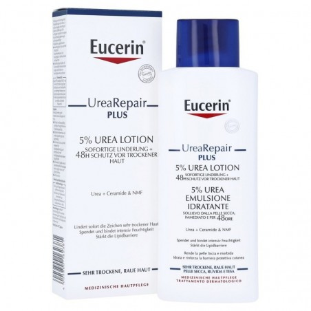 EUCERIN - Urearepair Plus - Emulsione idratante con 5% Urea per pelle secca 250 ml