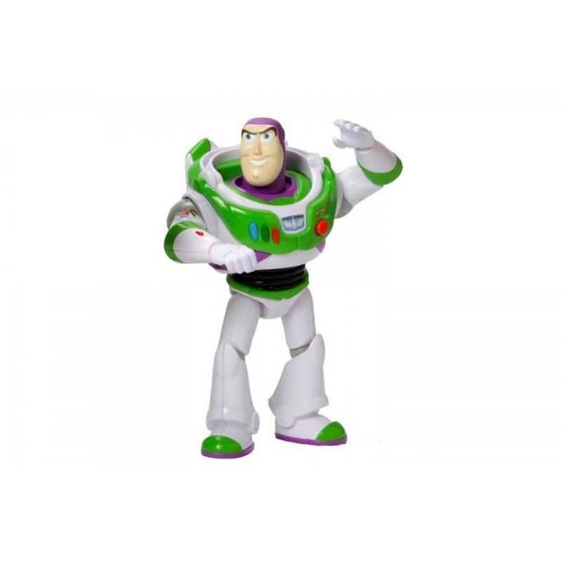 MATTEL - Buzz Lightyear Parlante di Toy story 4 - Il famoso Space Ranger da 18 cm